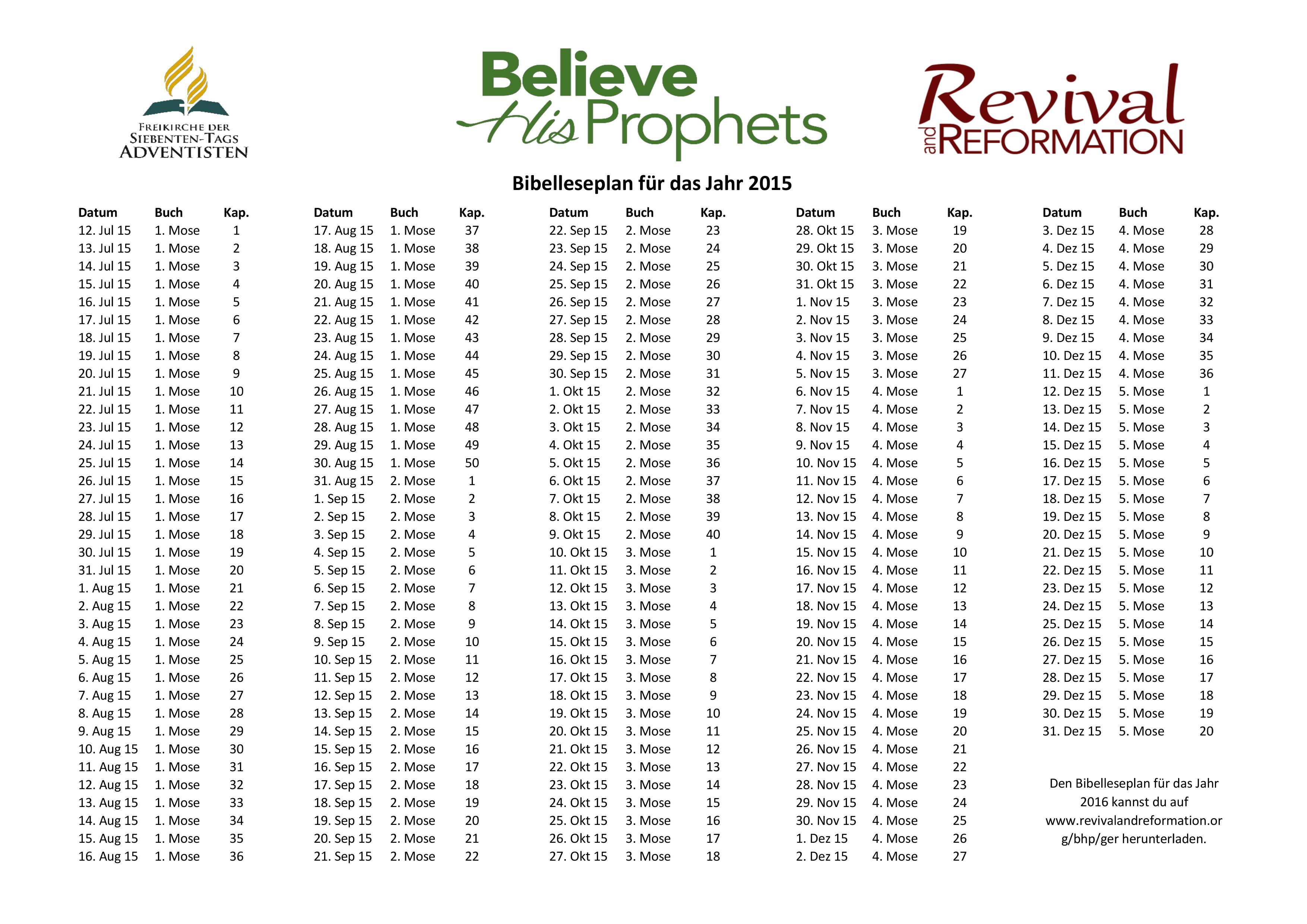 Christliche Propheten