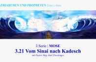"""3.21.Vom Sinai nach Kadesch – """"MOSE"""" von PATRIARCHEN UND PROPHETEN   Pastor Mag. Kurt Piesslinger"""