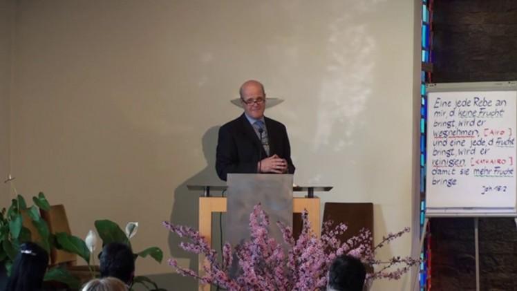 Wer bin ich ?   Pastor Günther Maurer – 29.03.2014