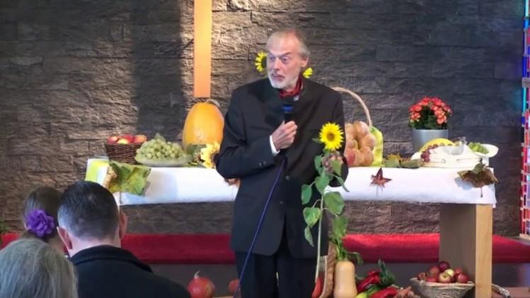 Erntedank – Der Schöpfer   Pastor Mag. Kurt Piesslinger – 20.10.2012