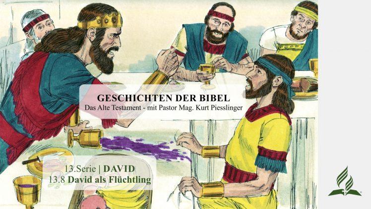GESCHICHTEN DER BIBEL: 13.8 David als Flüchtling – 13.DAVID | Pastor Mag. Kurt Piesslinger