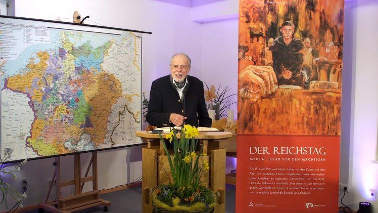 ERDBEBEN IM VATIKAN: 2.Der Reichstag von Worms 1521 | Pastor Mag. Kurt Piesslinger